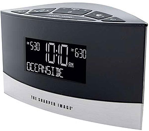 Sharper Image Sound Soother Alarm Clock