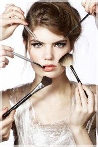 doing makeup