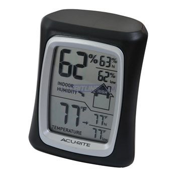 "AcuRite 3"" Digital Humidity & Temperature Comfort Monitor"