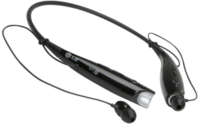 LG Tone HBS-730 Bluetooth Headset- Black - $39.99