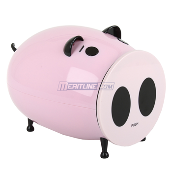 Pink Piggy Merax CD/DVD Storage Case 60 Capacity - $8.00