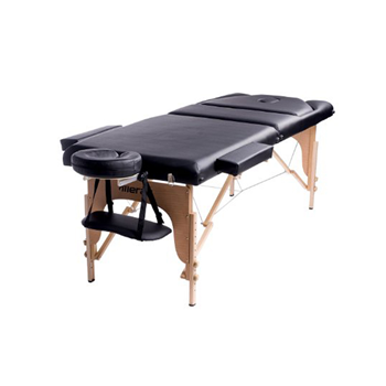 "Merax 84"" Portable 3 Fold PU Massage Table"