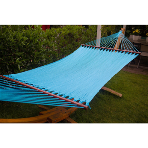Merax Outdoor Durable Swing Bed Caribean Hammock Chair High Quality Cotton (blue) - $71.99